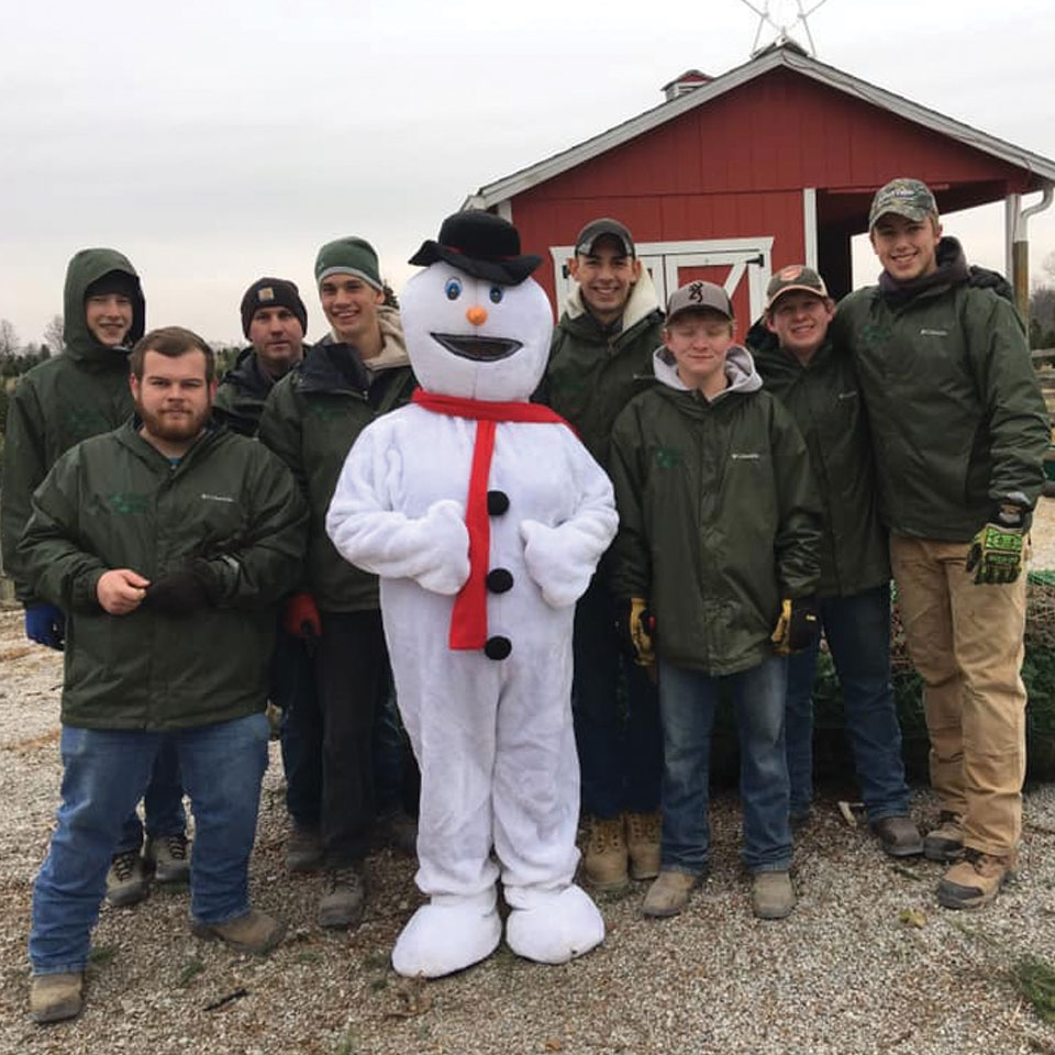 Frosty and the Cackler Crew