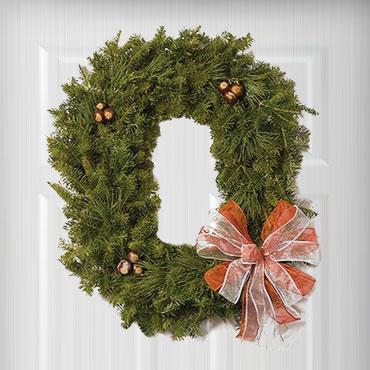 Block O Wreaths